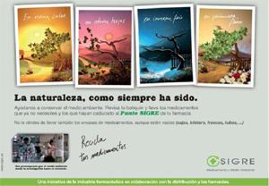 """Cartel de la campaña """"la naturaleza, como siempre ha sido"""""""