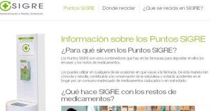 puntosigre.es, el microsite de SIGRE