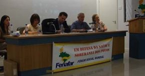 SIGRE como modelo en el Foro Social Mundial (FSM 2012) Temático de Porto Alegre