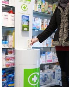 El Punto SIGRE se ubica en las farmacias