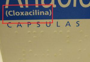 Principio activo de un envase de un medicamento