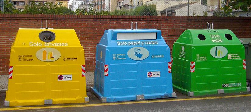 para que sirve el basurero de color amarillo