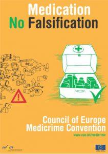 Cartel informativo de Medicrime