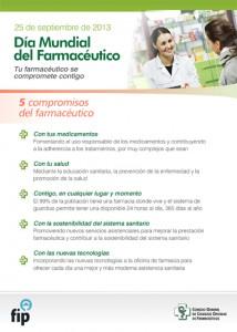 Cartel del Día Mundial del Farmacéutico de 2013