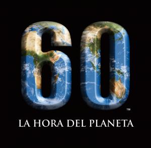Logotipo de la iniciativa medioambiental La Hora del Planeta