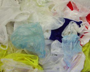 Conjunto de bolsas de plástico
