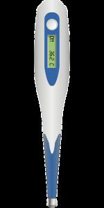 El termómetro es un elemento indispensable para el botiquín