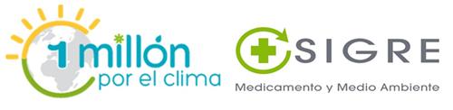 Logotipo de la iniciativa 1 Millón por el Clima
