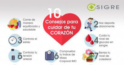 10 consejos para cuidar de tu corazón