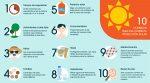 10 consejos para una correcta protección solar