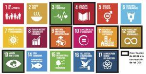 La actividad de SIGRE contribuye de manera especial a la consecución de 7 de los 17 ODS