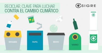 Reciclar, clave para luchar contra el cambio climático
