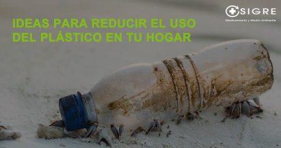 Ideas para reducir el uso del plástico en tu hogar