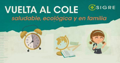 Vuelta al cole: saludable, ecológica y en familia