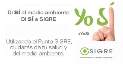 #YoSí: únete a SIGRE y di sí al medio ambiente