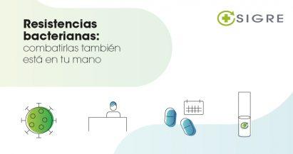 Resistencias bacterianas: combatirlas también está en tu mano