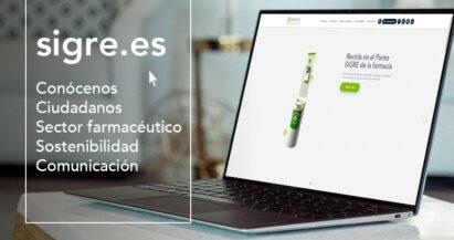 La nueva web de SIGRE, más innovadora y dinámica